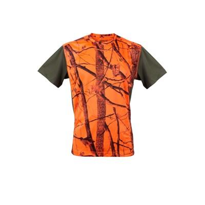 Μπλουζάκι Gamo Rogers T-Shirt Camo/Orange